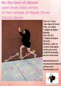 for the love of dance_open level class series_MSDS.final