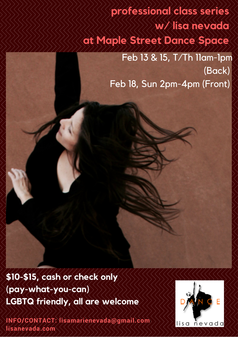 February class series w/ lisa nevada
